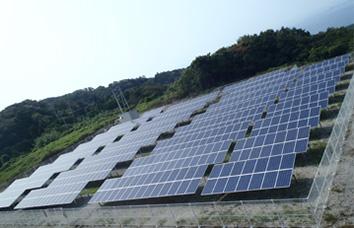 イメージ:伊方町二見太陽光発電所