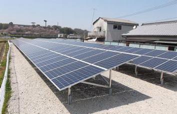 イメージ:西野町太陽光発電所