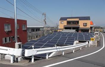イメージ:八倉太陽光発電所