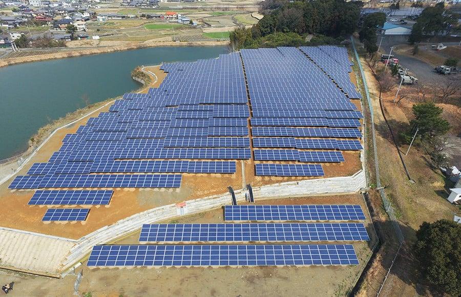 イメージ:再生可能エネルギー事業