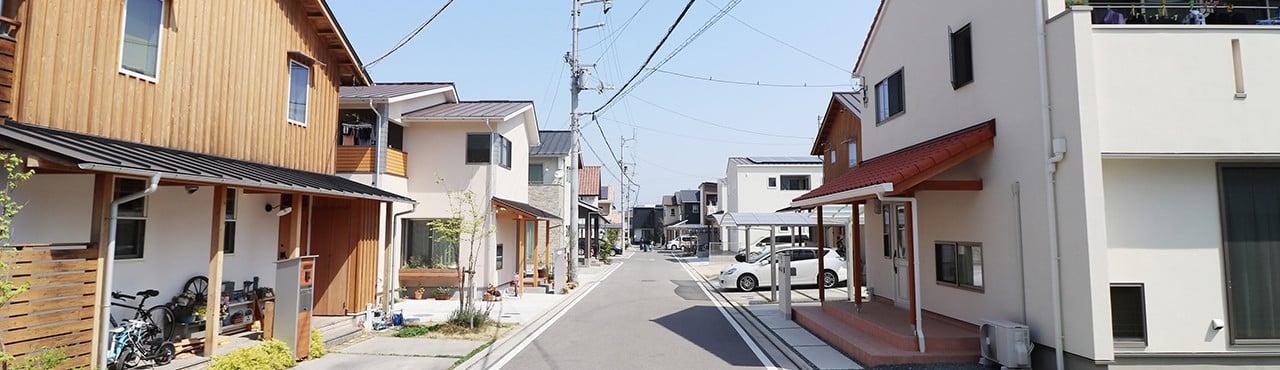 """イメージ:松井建設の""""街づくり"""""""
